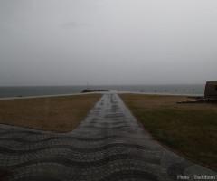 a_2013年9月15日 現場入り1日目 劇場となる犬島海水浴場